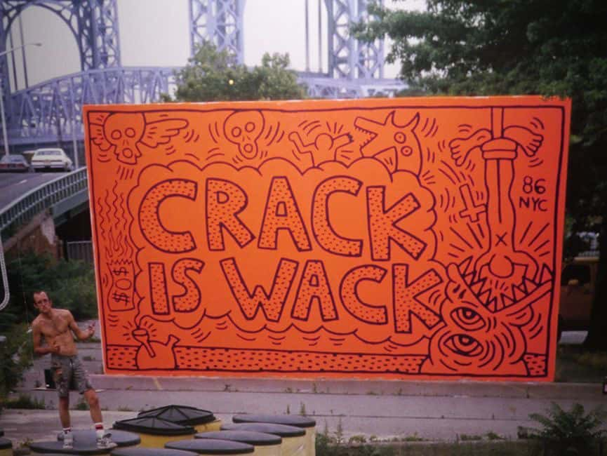 Keith Haring Crack is Wack