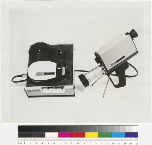Ant Farm, Sony Portapak, 1970