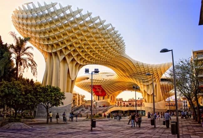 The Metropol Parasol, Seville