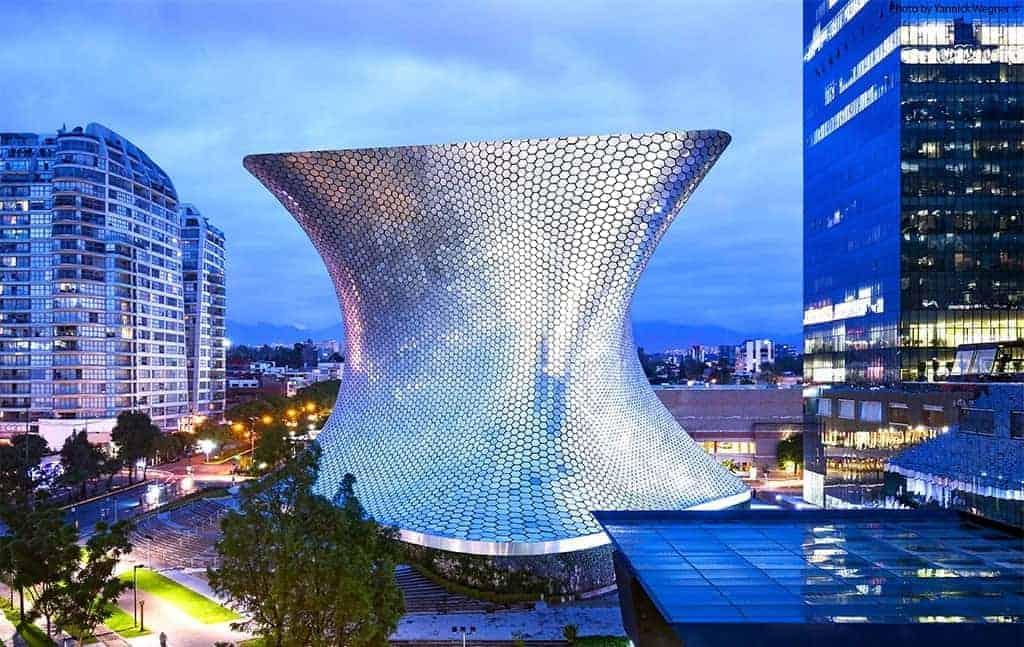 Museo Soumaya, Mexico City. Blobitecture
