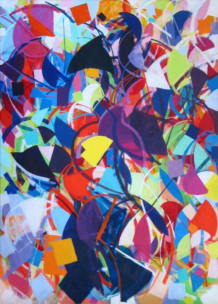 Samia Halaby art