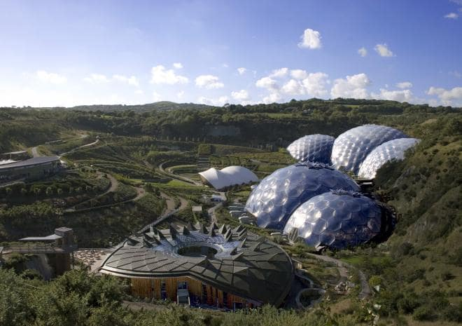 The Eden Project, Cornwall. Blobitecture