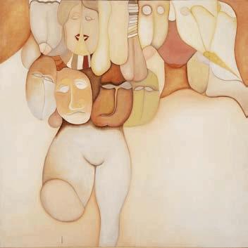 Huguette Caland art