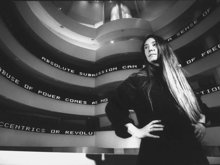 Jenny Holzer at the Guggenheim, New York City