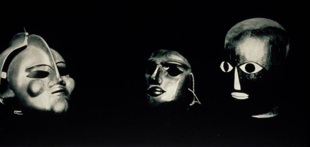 Oskar Schlemmer masks