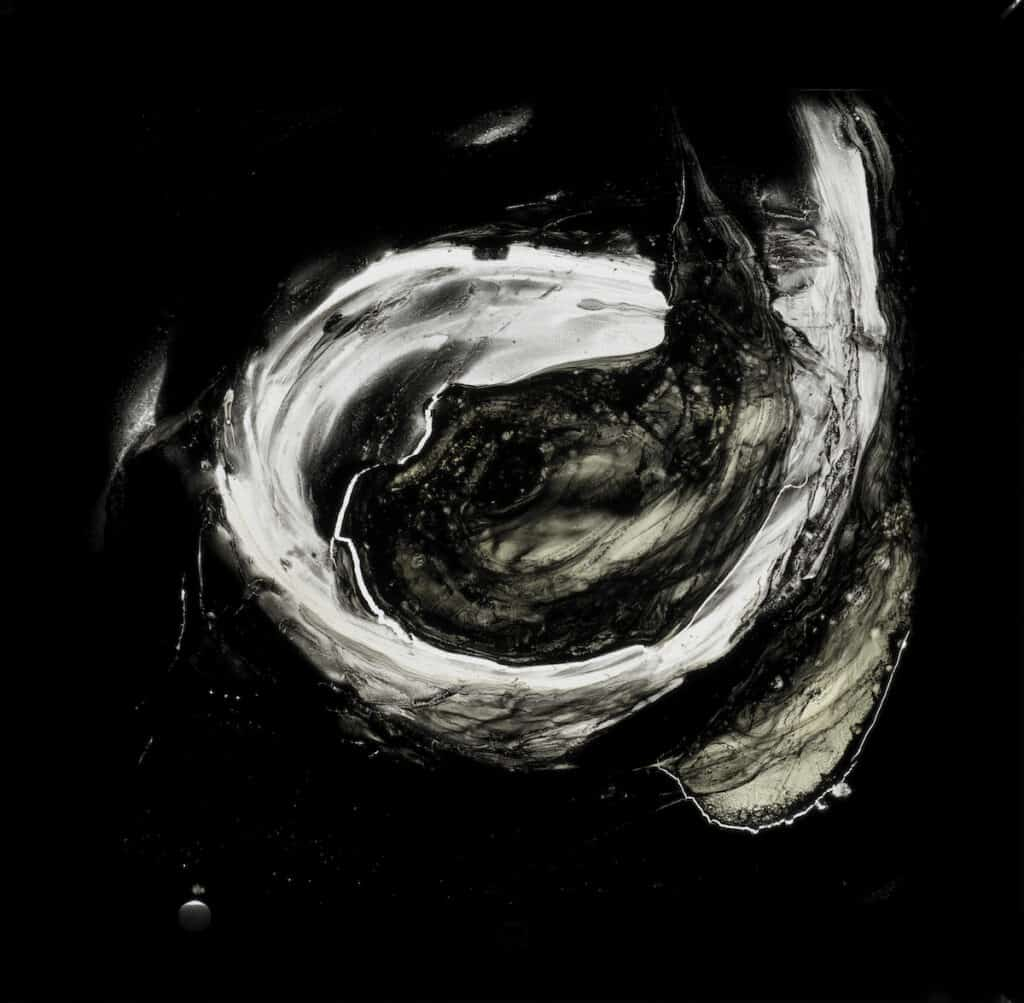 Aldo Tambellini, Lumagrams, 1965–68. Hand-painted glass slides. © The Aldo Tambellini Art Foundation