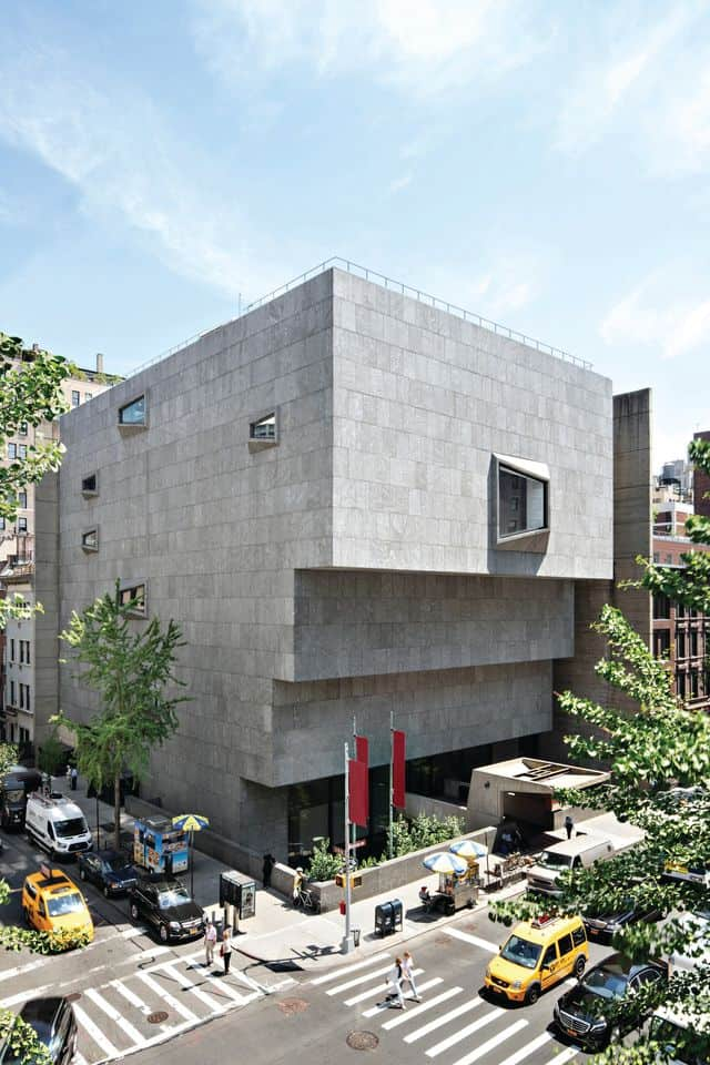 A new art museum in New York opening in 2021.