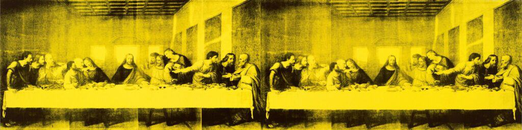 Andy Warhol, The Last Supper, 1986, was part of BMA's deaccessioning plan