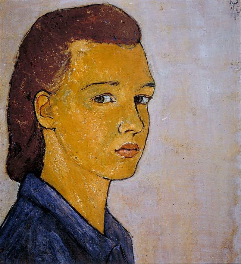 Charlotte Salomon, Self-portrait, 1940
