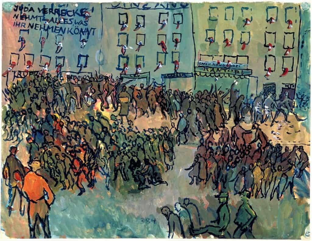 Kristallnacht, 1940–42