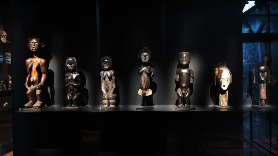 The African Collection of the Musée du quai Branly in Paris, where art restitution is made possible.