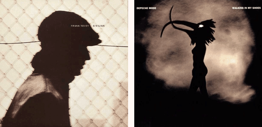 Frank Tovey Civilian, 1988 and Depeche Mode, Walking in My Shoes, 1993.