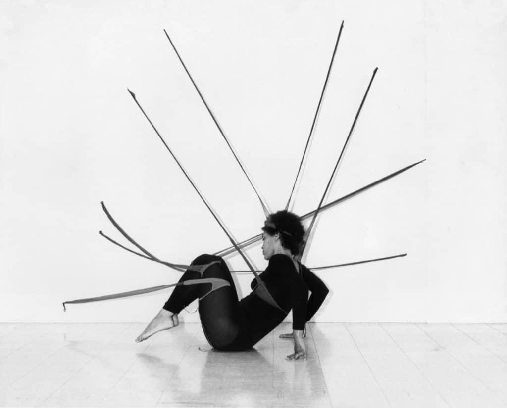 Senga Nengudi. R.S.V.P., featuring Maren Hassinger