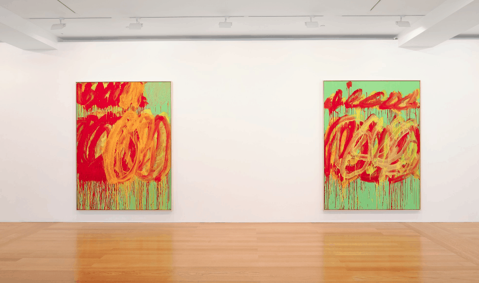 The Last Paintings Twombly