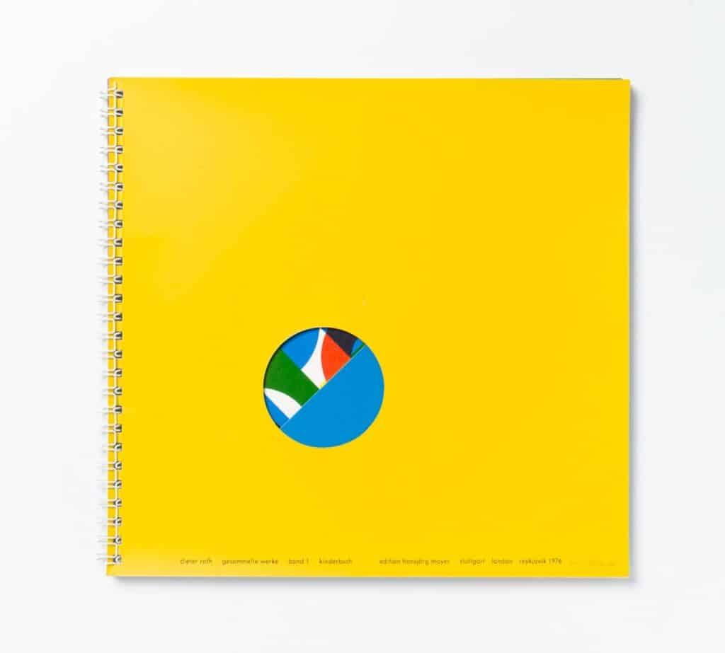 Dieter Roth, 2 bilderbücher, Artists' Books, 1976. Collection Museum of Contemporary Art Chicago.
