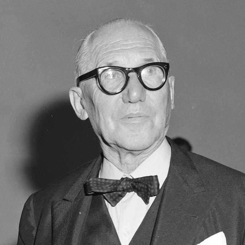 Le Corbusier in 1964