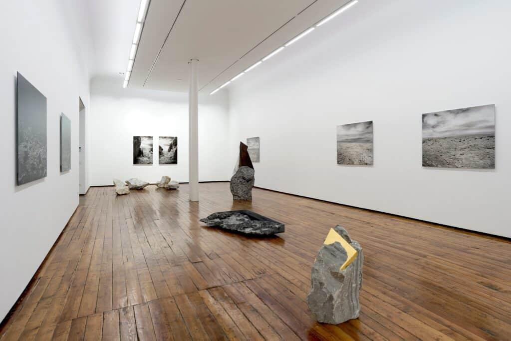 """Installation view of """"In Origine"""" by Filippo Armellin and Mattia Bosco, Galleria Fumagalli, Milano, 2019. Photo ©Filippo Armellin. Courtesy Galleria Fumagalli. Annamaria Maggi"""