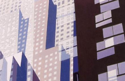 Charles Sheeler, Windows, 1952.