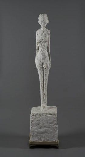 Alberto Giacometti, Woman With Chariot, 1944-1945. Courtesy Giacometti Foundation