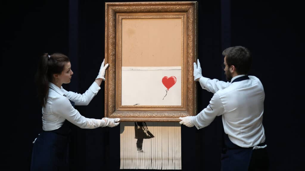 artists destroyed work