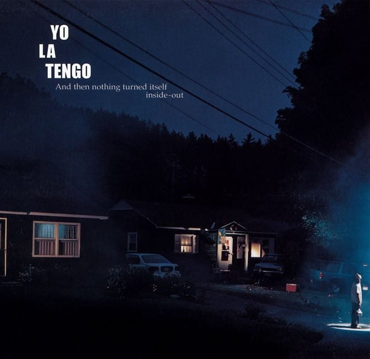 Gregory Crewdson's album art for Yo La Tengo: And Then Nothing Turned Itself Inside-Out (2000).