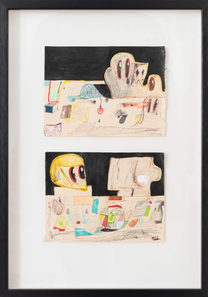 Eddie Martinez, Untitled, 2011. Available at Artland Collector Auction No. 2.