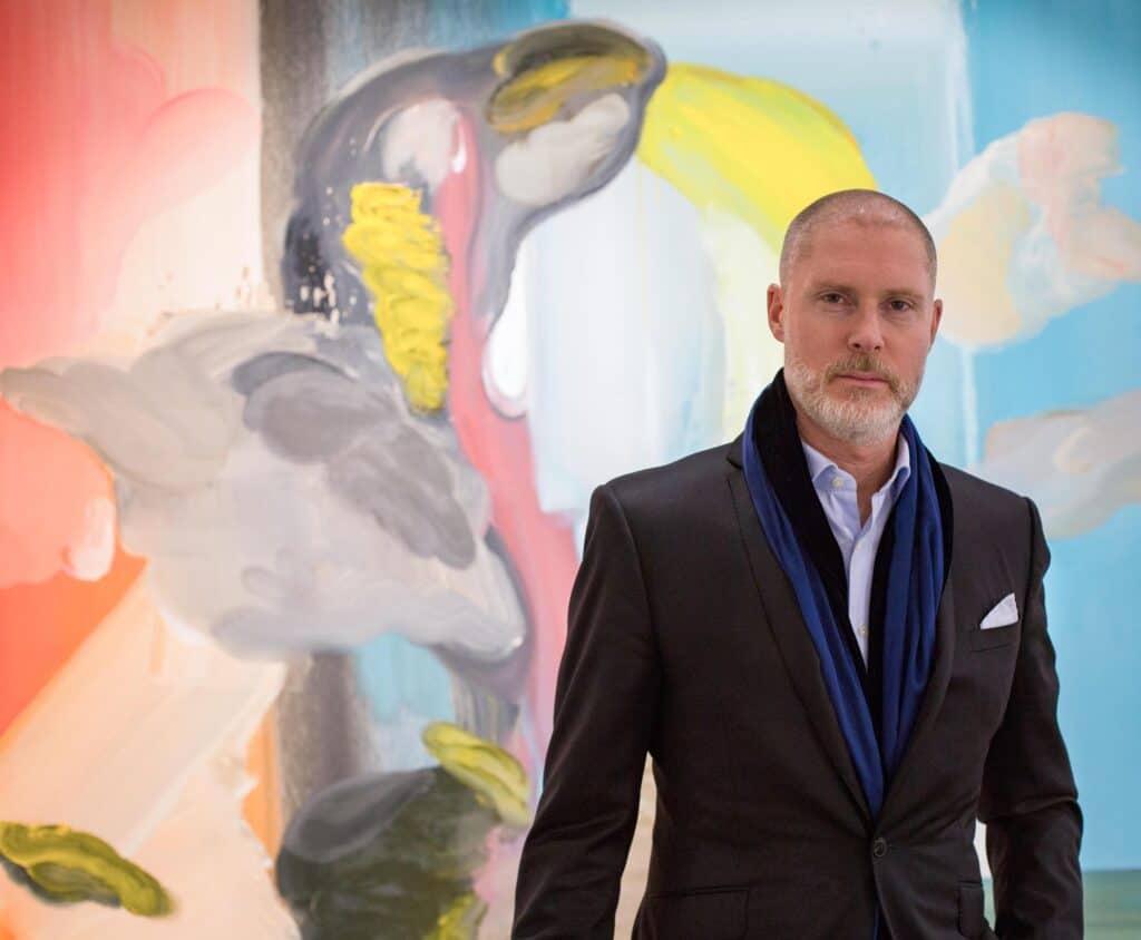 Jean-David Malat, founder and director of London's JD Malat Gallery. Ed Moses