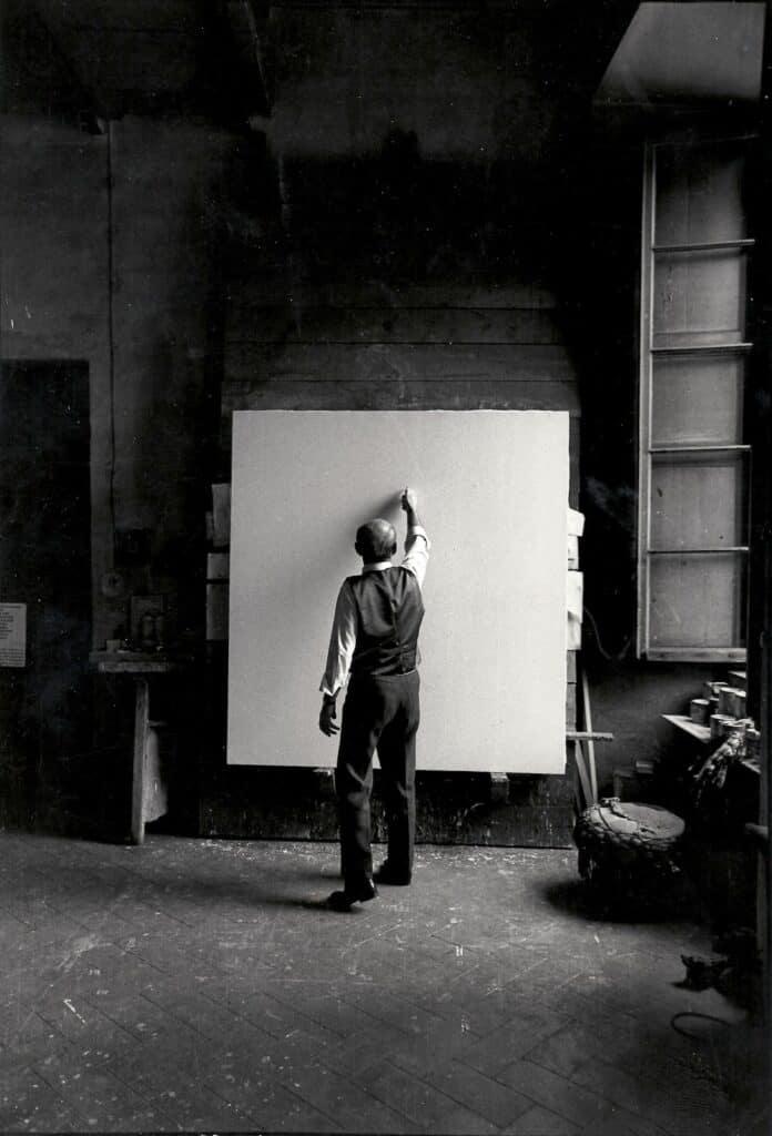 Ugo Mulas, Lucio Fontana, 1965.