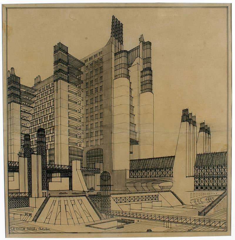Antonio Sant'Elia, New City, 1914
