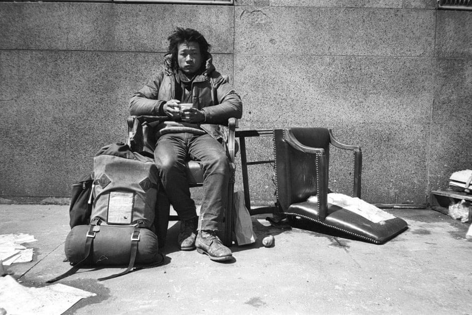 Tehching Hsieh, One Year Performance 1981-1982, New York. Courtesy Gilbert and Lila Silverman Collection, Detroit, and Sean Kelly, New York.