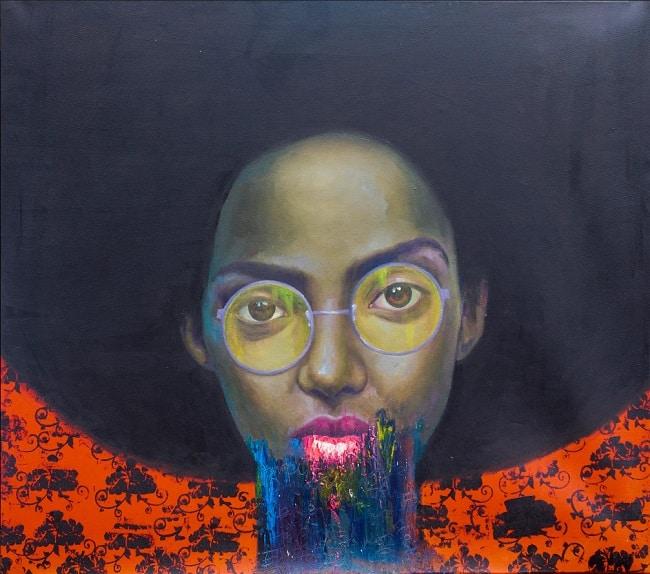 Oluwole Omofemi, Omoge, 2019. Nigerian Artists