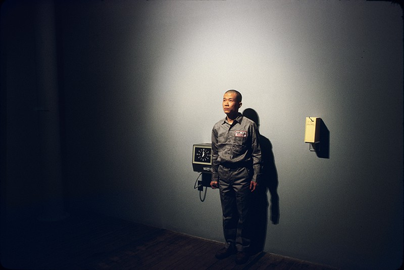 Tehching Hsieh, One Year Performance 1980-1981, New York. © Tehching Hsieh. Courtesy the artist and Sean Kelly. Photograph: Michael Shen.