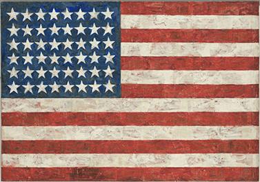 Jasper Johns Flag. Dreams
