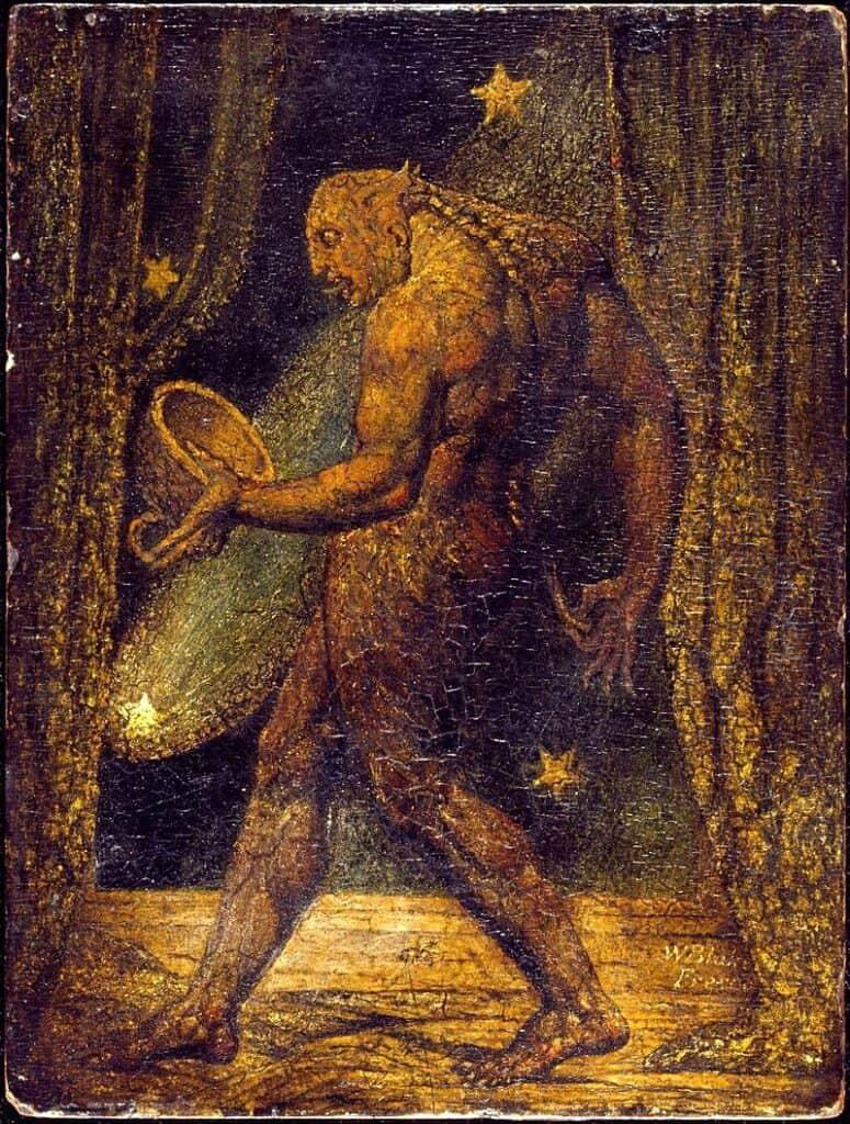 William Blake, The Ghost of a Flea,  Dreams