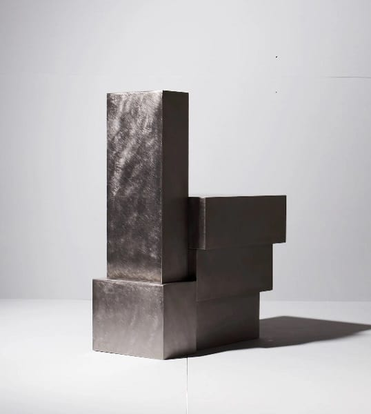 Hyungshin Hwang, Layered Steel_Chair, 2020