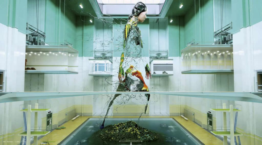 Liu Di, Pattern, 2020. Still from 3D concept short film. Courtesy of the artist.
