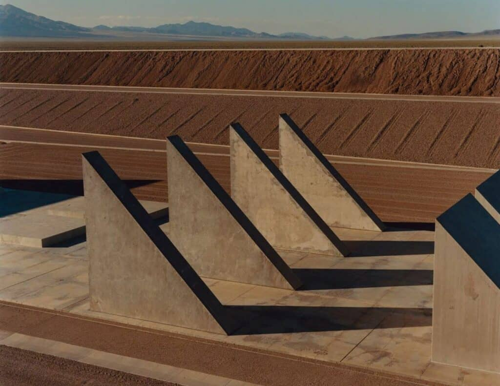 Michael Heizer, City, 1970-ongoing. Image © Jamie Hawkesworth for the New Yorker. One of the world's most remote art installations.