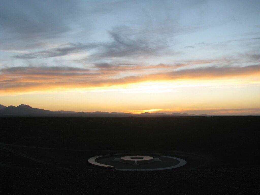 James Turel, Roden Crater, ca. 2024. © 2021 Skystone Foundation © James Turrell, Photo by James Turrell. One of James Turel's remote art installations.