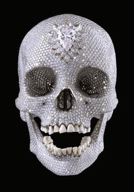Damien Hirst skull