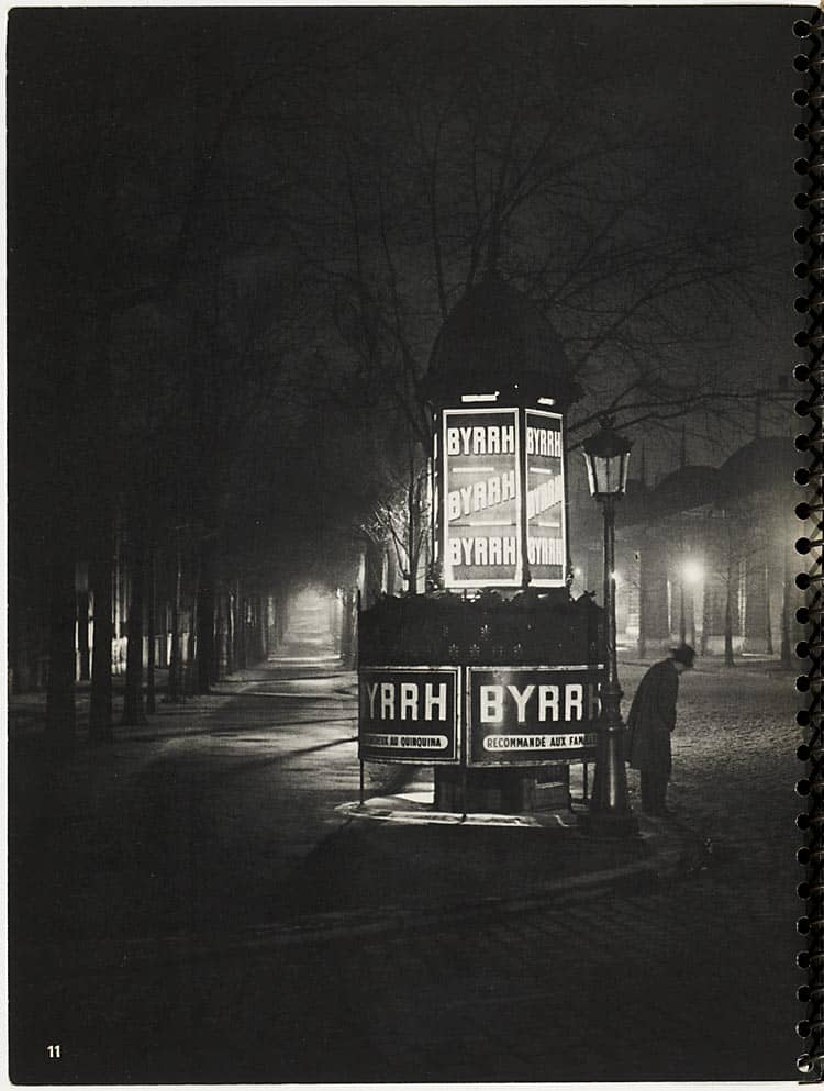 Paris de Nuit Brassaï
