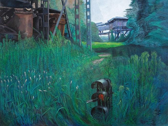 "Gao Yuan, ""Tribute to The Blow to the Heart II,"" 2011."