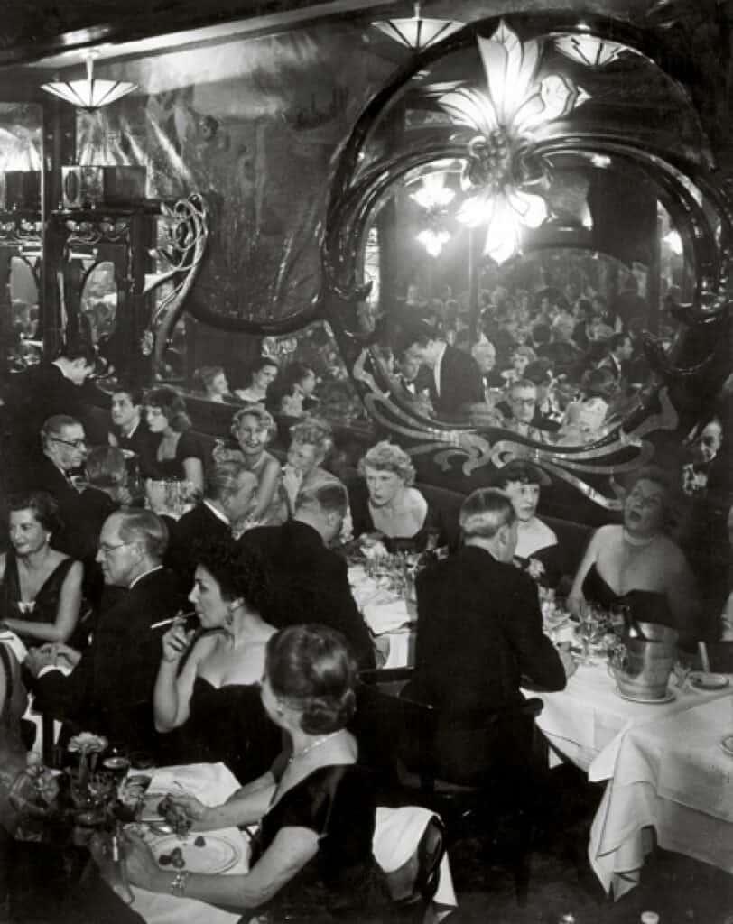 Paris high society