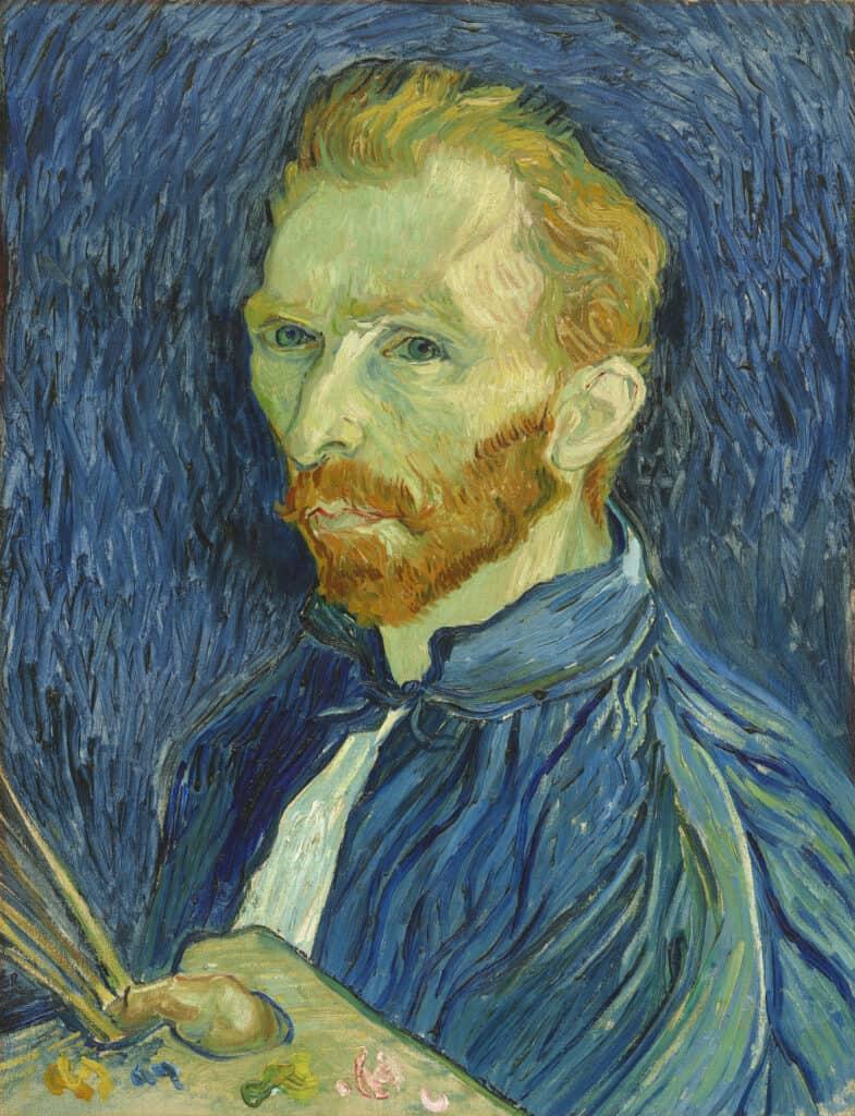 Vincent van Gogh, Self-Portrait, 1889 Jo van Gogh-Bonger