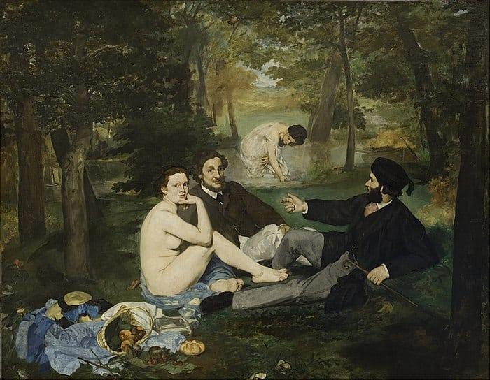 Édouard Manet, Le Déjeuner sur l'herbe, 1863. Oil on canvas. Courtesy Musée d'Orsay.