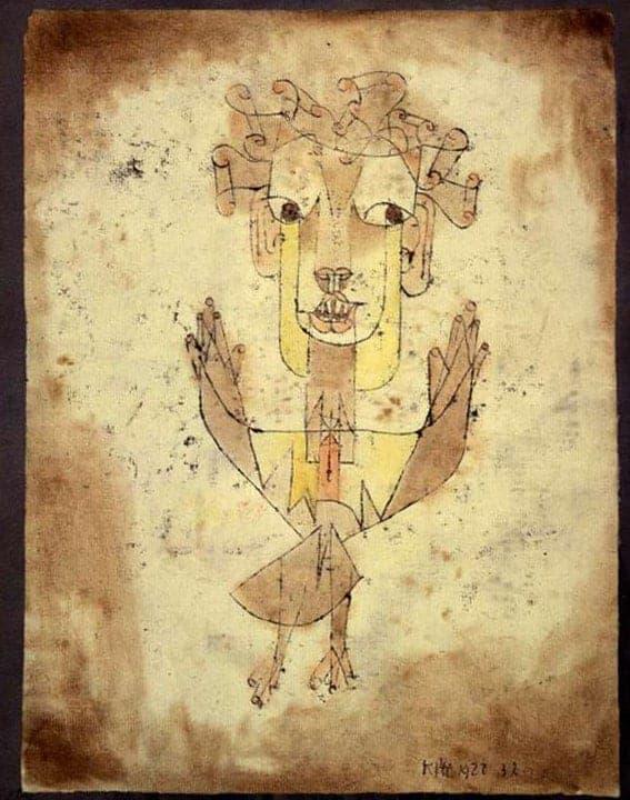 Paul Klee, Angelus Novus, 1920. Avant-garde