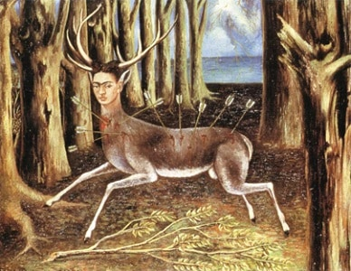 Frida Kahlo's 1946 oil painting The Wounded Deer