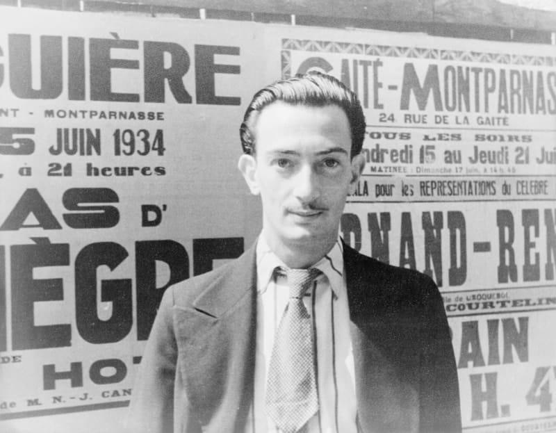 Portrait of Salvador Dalí, Paris, 16 June 1934