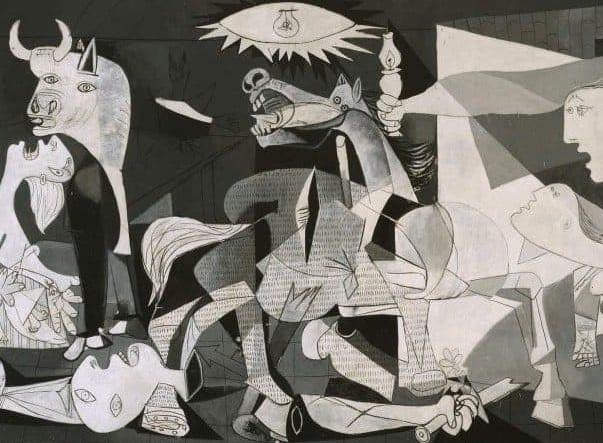 Pablo Picasso, Guernica, 1937. Avant-garde