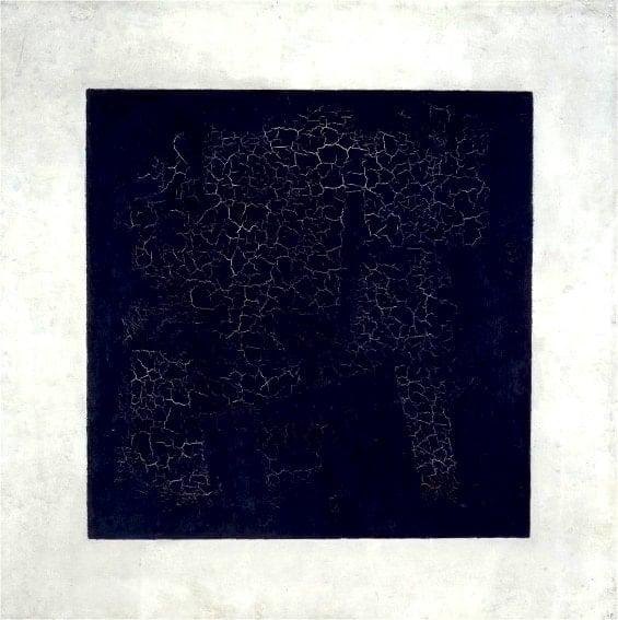 Malevich, Black Square. Avant-garde