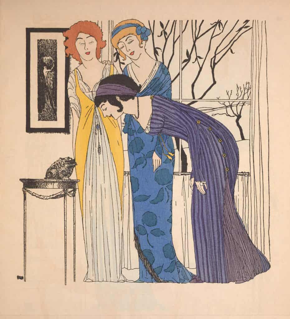 Paul Poiret illustration